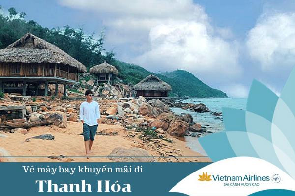 Vé máy bay khuyến mãi đi Thanh Hóa Vietnam Airlines