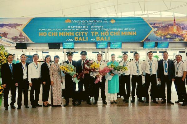 Vietnam Airlines chính thức khai trương đường bay TP Hồ Chí Minh Bali Indonesia