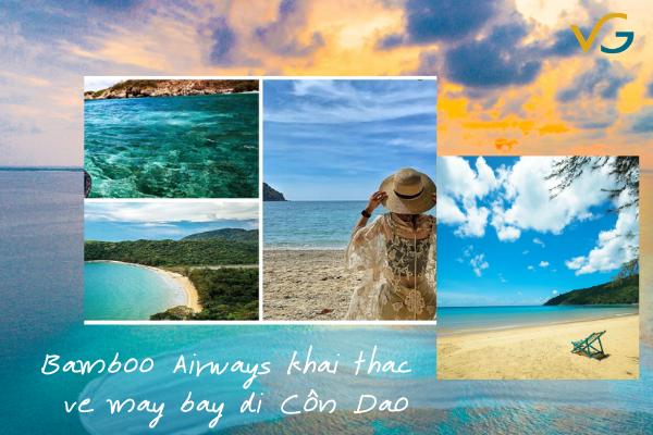 Bamboo Airways khai thác vé máy bay đi Côn Đảo