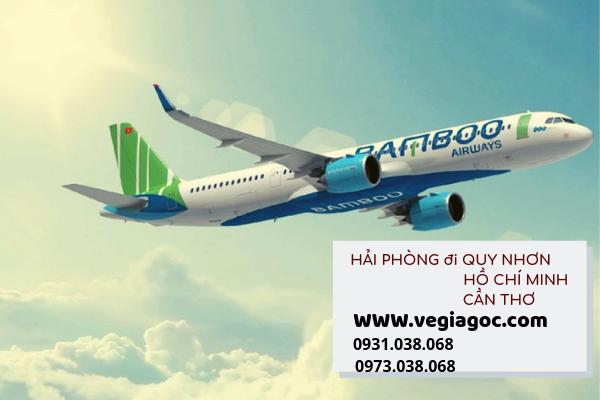 Bamboo Airways mở thêm 3 đường bay mới từ Hải Phòng đi Quy Nhơn Sài Gòn Cần Thơ
