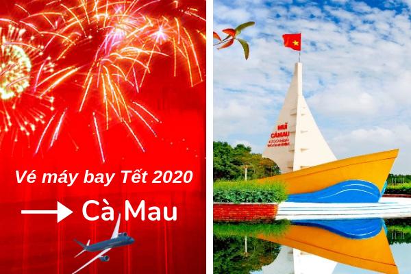 Bảng giá vé máy bay Tết đi Cà Mau 2020