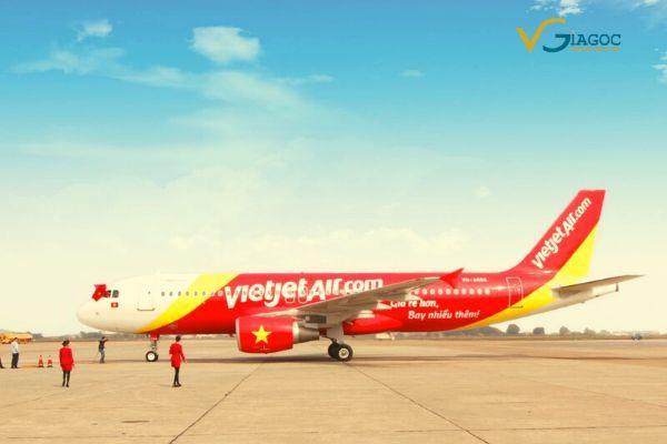 Cách tính phí đổi vé máy bay hãng Vietjet Air