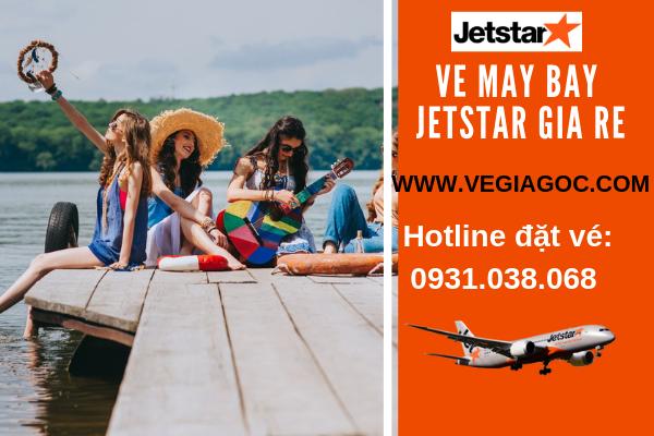 Đặt vé máy bay giá rẻ Jetstar
