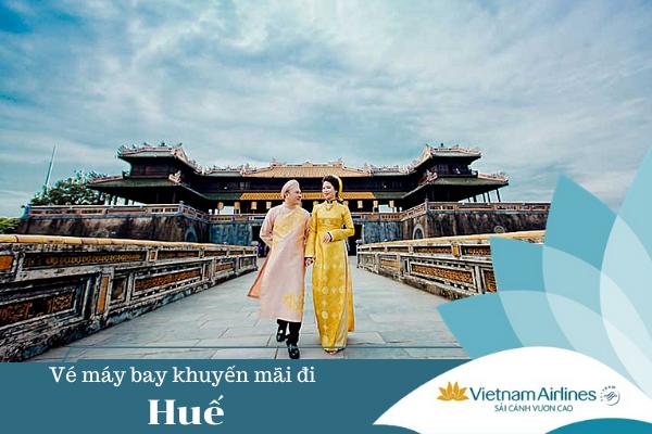 Vé máy bay khuyến mãi đi Huế Vietnam Airlines