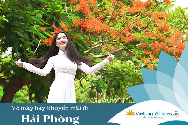 Vé máy bay khuyến mãi đi Hải Phòng Vietnam Airlines
