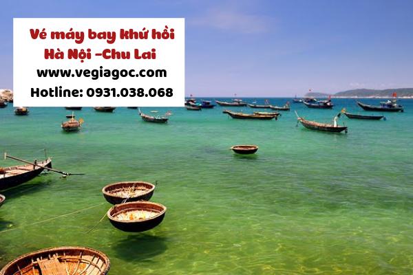 Giá vé máy bay khứ hồi Hà Nội Chu Lai