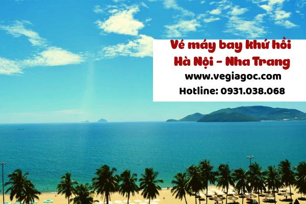 Giá vé máy bay khứ hồi Hà Nội đi Nha Trang