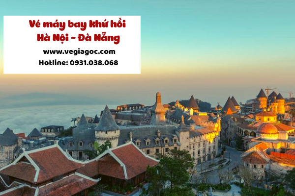 Giá vé máy bay khứ hồi Hà Nội Đà Nẵng