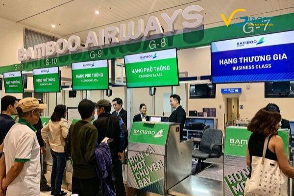 Hướng dẫn làm thủ tục đi máy bay Bamboo Airways