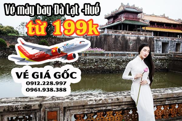 Jetstar khuyến mãi vé máy bay Đà Lạt Huế chỉ 190000 đồng