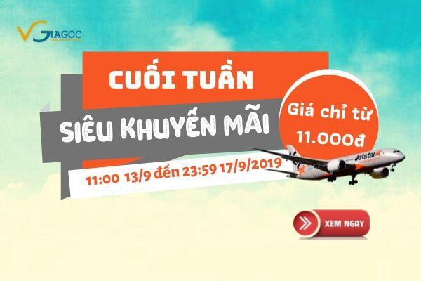 Jetstar bán vé máy bay siêu rẻ 11.000 đồng