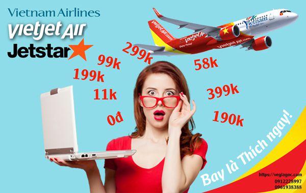 Kinh nghiệm đặt mua vé máy bay giá rẻ trực tuyến