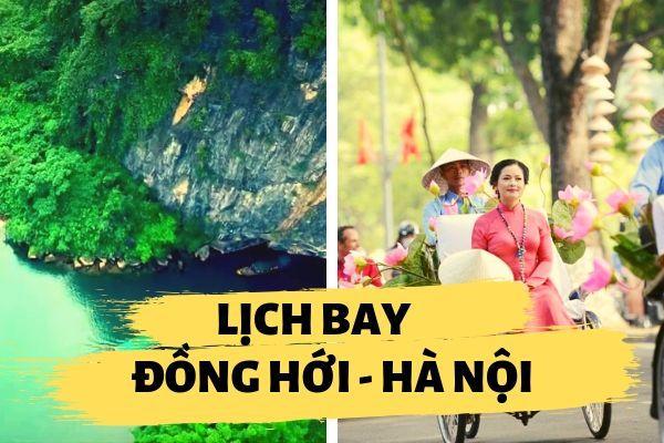 Lịch bay Đồng Hới đi Hà Nội
