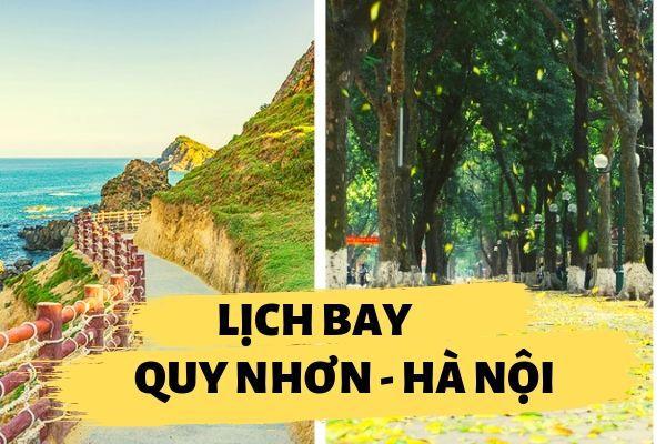 Lịch bay Quy Nhơn đi Hà Nội
