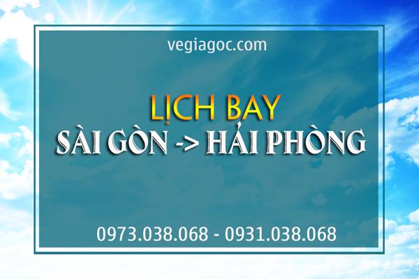 Lịch bay Sài Gòn Hải Phòng