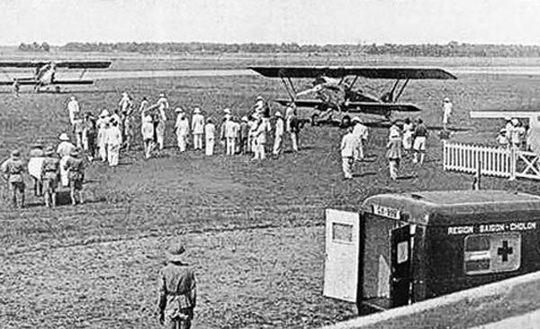 Sân bay Tân Sơn Nhất 100 năm về trước trông như thế nào