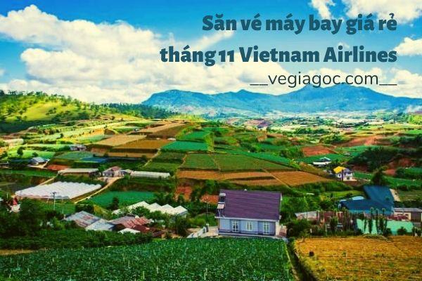 Săn vé máy bay giá rẻ tháng 11 Vietnam Airlines