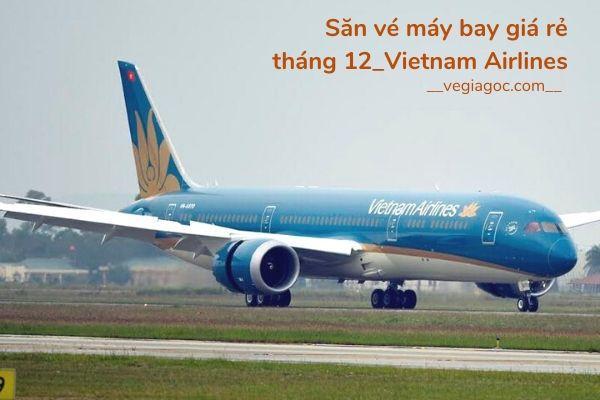 Săn vé máy bay giá rẻ tháng 12 2020 Vietnam Airlines