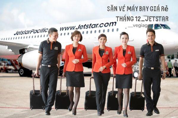 Săn vé máy bay giá rẻ tháng 12 Jetstar