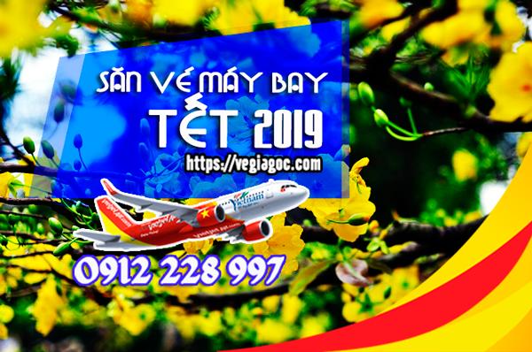 Săn vé máy bay Tết 2019 giá rẻ