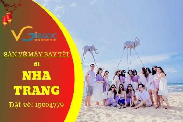 Săn vé máy bay Tết đi Nha Trang