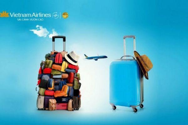 Tặng 1 kiện hành lý ký gửi khi bay Vietnam Airlines và Pacific Airlines
