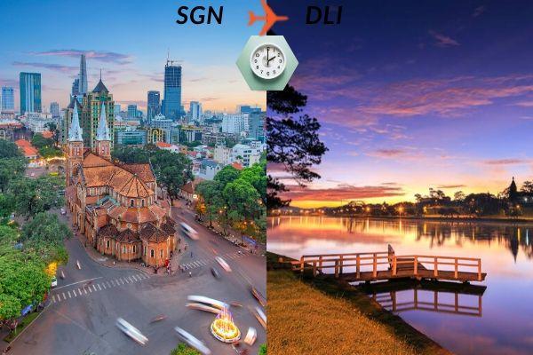 Thời gian bay từ Sài Gòn đến Đà Lạt mất bao lâu