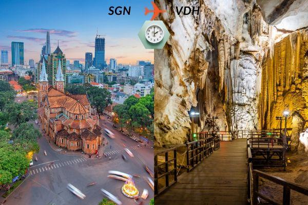 Thời gian bay từ Sài Gòn đến Đồng Hới mất bao lâu