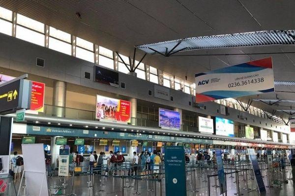 Thông báo mở lại các đường bay đến và đi Đà Nẵng