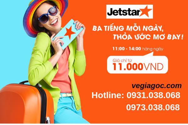 Tưng bừng săn vé máy bay Quốc tế 11k Jetstar