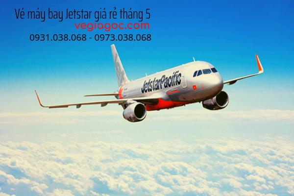 Vé máy bay Jetstar giá rẻ tháng 5