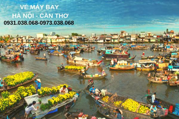 Vé máy bay Bamboo Airways Hà Nội đi Cần Thơ