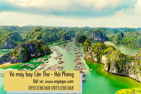 Vé máy bay Cần Thơ Hải Phòng giá rẻ chỉ từ 399 000 đồng