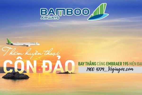 Vé máy bay Đà Nẵng đi Côn Đảo Bamboo Airways