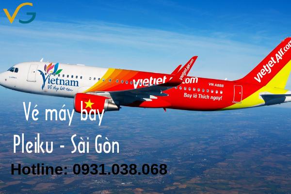 Vé máy bay Pleiku đi Sài Gòn giá rẻ