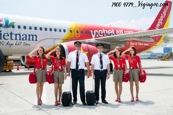 Vé máy bay giá rẻ tháng 4 Vietjet