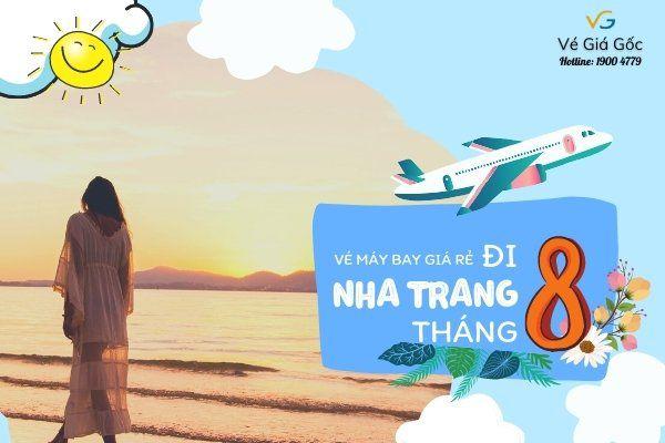 Vé máy bay giá rẻ đi Nha Trang tháng 8