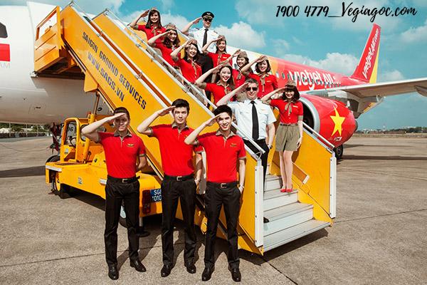 Vé máy bay giá rẻ tháng 8 Vietjet