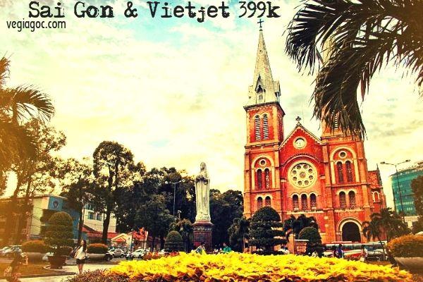 Vé máy bay Hà Nội Sài Gòn Vietjet khuyến mãi 399k