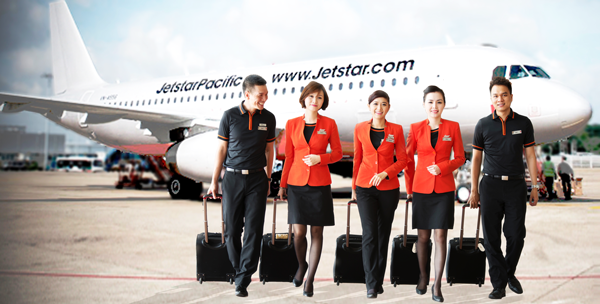 Vé máy bay Jetstar Pacific