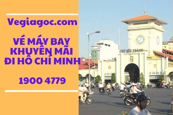 Vé máy bay khuyến mãi đi Hồ Chí Minh Vietjet