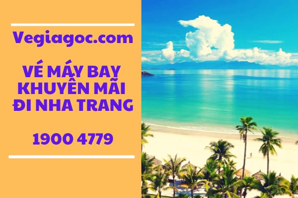 Vé máy bay khuyến mãi đi Nha Trang Vietjet