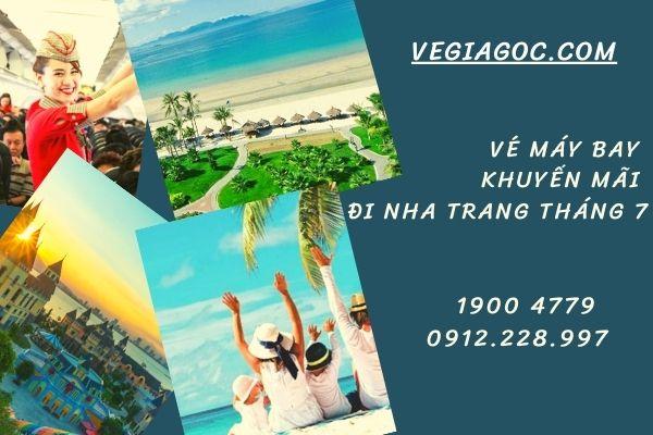 Vé máy bay khuyến mãi đi Nha Trang tháng 7