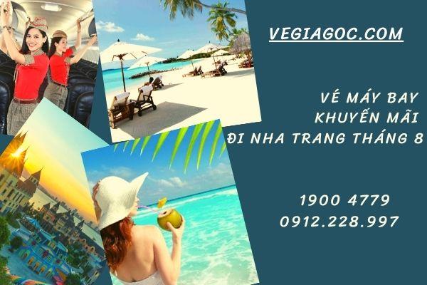 Vé máy bay khuyến mãi đi Nha Trang tháng 8