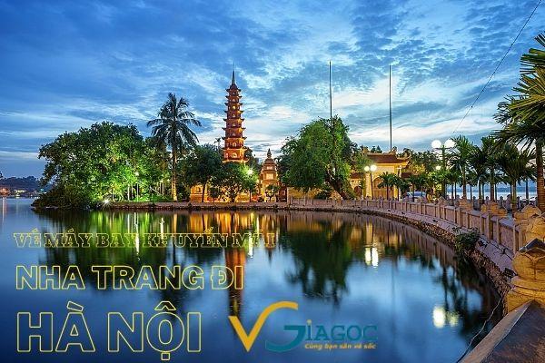 Vé máy bay khuyến mãi Nha Trang đi Hà Nội