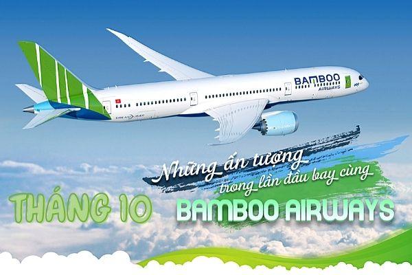 Vé máy bay khuyến mãi tháng 10 Bamboo Airways