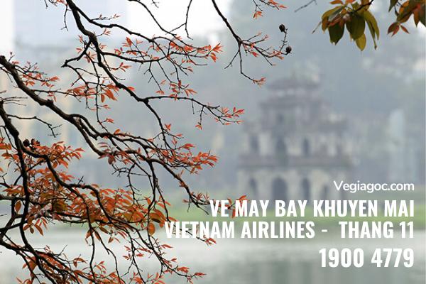Vé máy bay khuyến mãi tháng 11 Vietnam Airlines