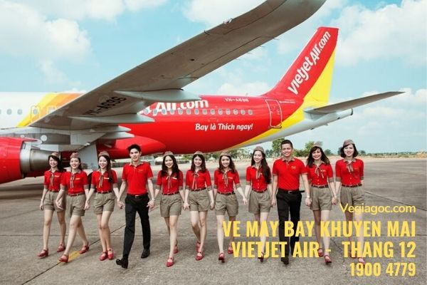 Vé máy bay khuyến mãi tháng 12 Vietjet