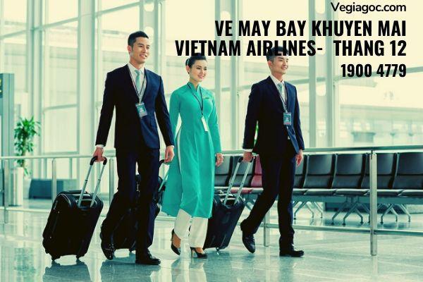 Vé máy bay khuyến mãi tháng 12 Vietnam Airlines