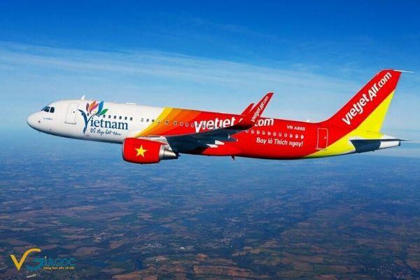 Vé máy bay khuyến mãi tháng 2 2020 Vietjet